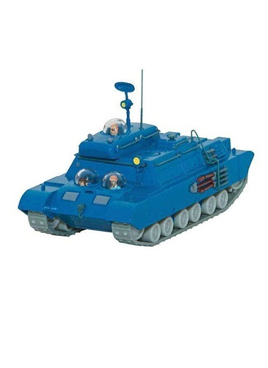 Tenten: 1/43 Ölçekli Model Araba  (Lunar Tank)-Moulinsart